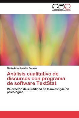 Analisis Cualitativo de Discursos Con Programa de Software Textstat