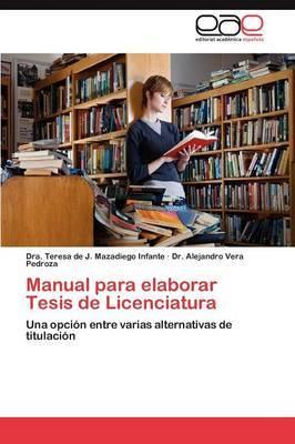 Manual Para Elaborar Tesis de Licenciatura