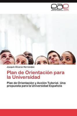 Plan de Orientacion Para La Universidad