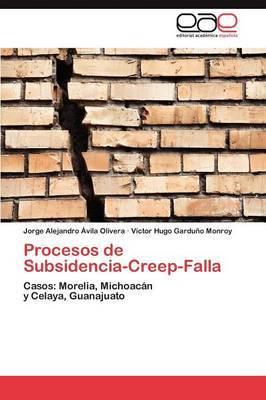 Procesos de Subsidencia-Creep-Falla