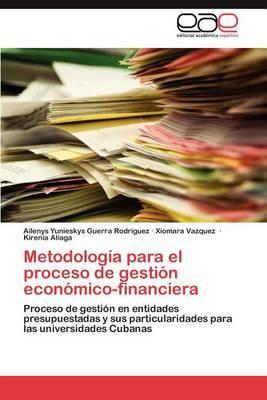 Metodologia Para El Proceso de Gestion Economico-Financiera