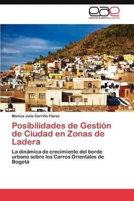 Posibilidades de Gestion de Ciudad En Zonas de Ladera