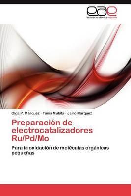 Preparacion de Electrocatalizadores Ru/Pd/Mo