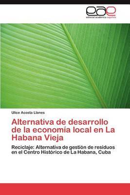 Alternativa de Desarrollo de La Economia Local En La Habana Vieja
