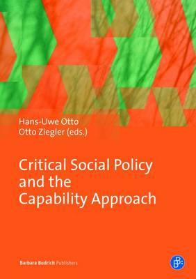 Critical Social Policy and the Capability Approach