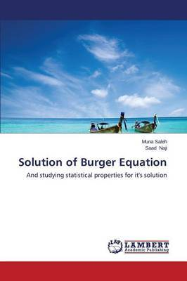 Solution of Burger Equation