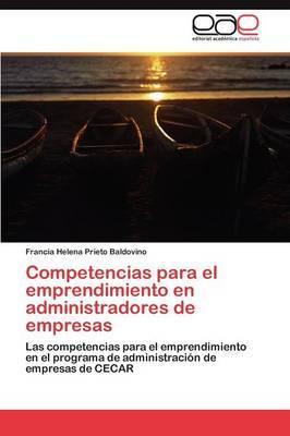 Competencias Para El Emprendimiento En Administradores de Empresas