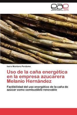 USO de La Cana Energetica En La Empresa Azucarera Melanio Hernandez