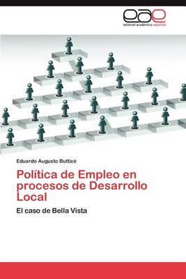 Politica de Empleo En Procesos de Desarrollo Local