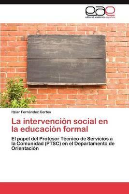 La Intervencion Social En La Educacion Formal