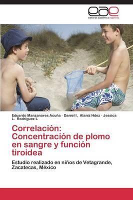 Correlacion: Concentracion de Plomo En Sangre y Funcion Tiroidea