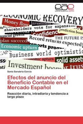 Efectos del Anuncio del Beneficio Contable En El Mercado Espanol