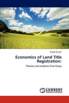 Economics of Land Title Registration