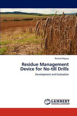 Residue Management Device for No-Till Drills