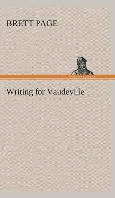 Writing for Vaudeville