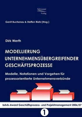 Modellierung Unternehmensubergreifender Geschaftsprozesse