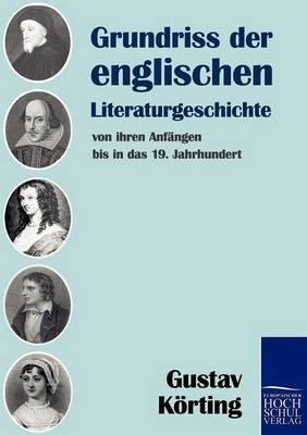 Grundriss Der Englischen Literaturgeschichte