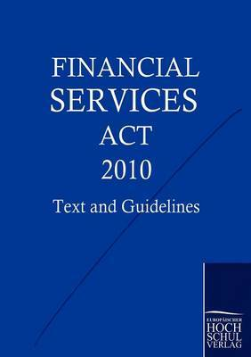 Financial Services ACT 2010