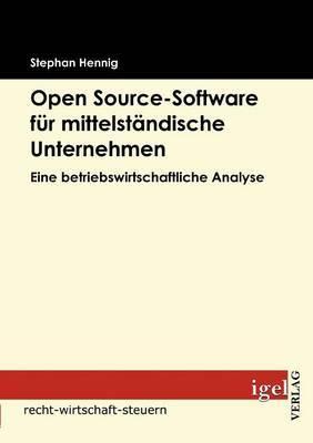 Open Source-Software Fur Mittelstandische Unternehmen