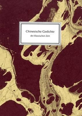 Chinesische Gedichte Der Klassischen Zeit