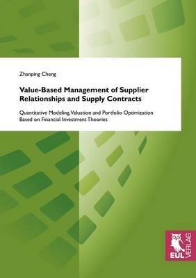 Value-Based Management of Supplier