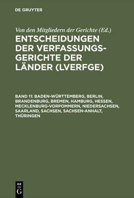 Baden-Wurttemberg, Berlin, Brandenburg, Bremen, Hamburg, Hessen, Mecklenburg-Vorpommern, Niedersachsen, Saarland, Sachsen, Sachsen-Anhalt, Thuringen: 1.1. Bis 31.12.2000