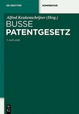 Patentgesetz: Unter Berucksichtigung Des Europaischen Patentubereinkommens Und Des Patentzusammenarbeitsvertrags. Mit Patentkostengesetz, Gebrauchsmustergesetz Und Gesetz Uber Den Schutz Der Topographien Von Halbleitererzeugnissen