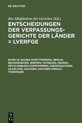 Baden-W�rttemberg, Berlin, Brandenburg, Bremen, Hamburg, Hessen, Mecklenburg-Vorpommern, Niedersachsen, Saarland, Sachsen, Sachsen-Anhalt, Th�ringen: 1.1. Bis 31.12.2005