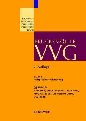100-124 Vvg: (Haftpflichtversicherung, Produkt, D&o, Umwelt)