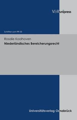 Niederlandisches Bereicherungsrecht: Auf Der Suche Nach Die Grenze Der Haftung