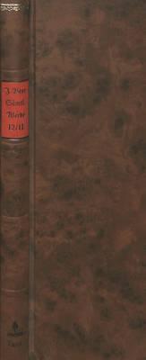 Saemtliche Werke - Band 12/II- Musikalische Schriften- Herausgegeben Von Ferdinand Van Ingen Und Hans-Gert Roloff: Schola-Phonologica