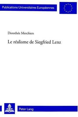 Le Realisme de Siegfried Lenz