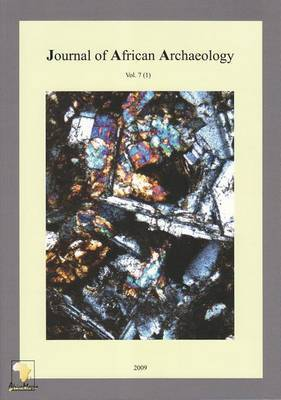 Journal of African Archaeology 7 (1)