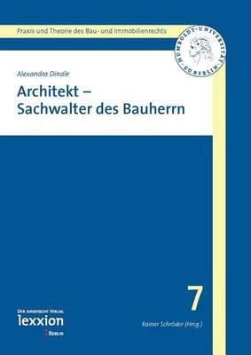 Architekt - Sachwalter Des Bauherren
