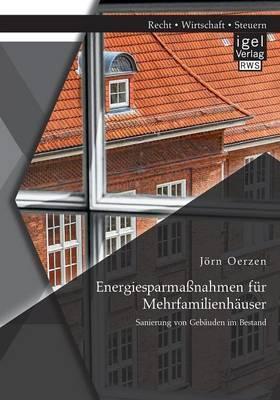 Energiesparmassnahmen Fur Mehrfamilienhauser: Sanierung Von Gebauden Im Bestand