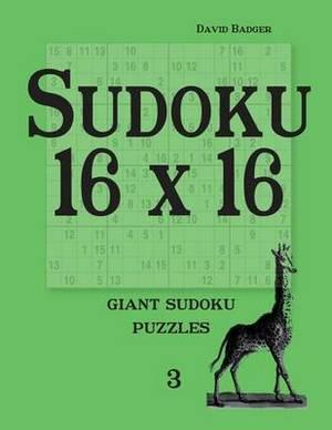 Sudoku 16 X 16: Giant Sudoku Puzzles
