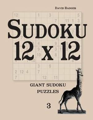 Sudoku 12 X 12: Giant Sudoku Puzzles