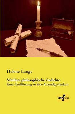 Schillers Philosophische Gedichte