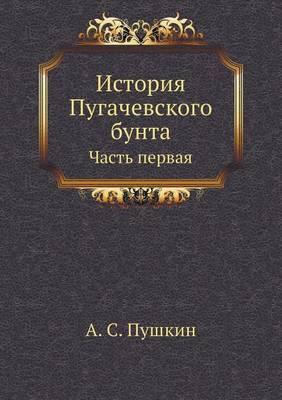 Istoriya Pugachevskogo Bunta Chast 1