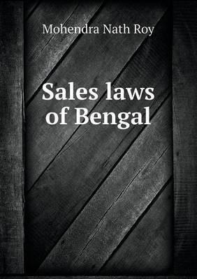 Sales Laws of Bengal