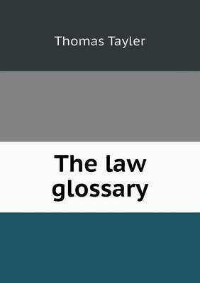 The Law Glossary