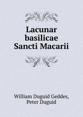 Lacunar Basilicae Sancti Macarii