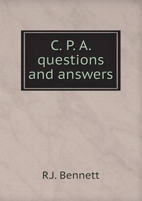 C. P. A. Questions and Answers