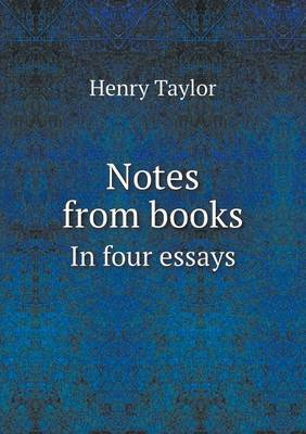 Notes from Books in Four Essays