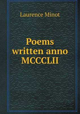 Poems Written Anno MCCCLII