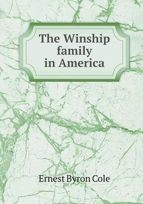 The Winship Family in America