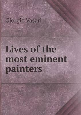 Lives of the Most Eminent Painters