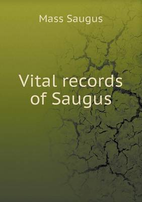 Vital Records of Saugus