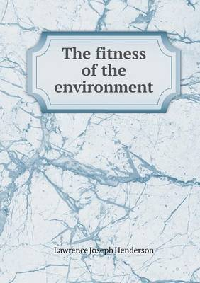 The Fitness of the Environment