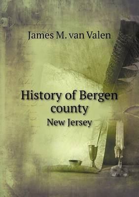 History of Bergen County New Jersey